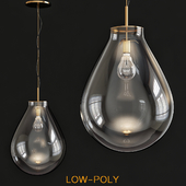 Unusual pendant lights in the interior