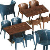Visionnaire Anastasia Chairs and Tables