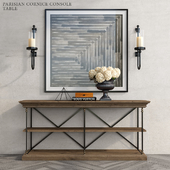 PARISIAN CORNICE CONSOLE TABLE
