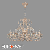 OM Chandelier with crystal Eurosvet 3305/12 Alda