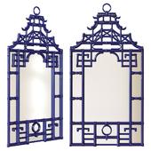 Сhairish / Blue Pagoda Wall Mirror