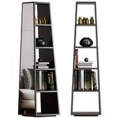 Minotti Archipenko Mirror Bookcase