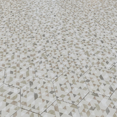 Porcelain tile EQUIPE URBAN Hexagon Forest