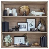 Bookshelf decor 2
