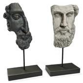 ANCIENT GREEK SCULPTURE POSEIDON and ZEUS