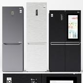 Set of refrigerators LG 2