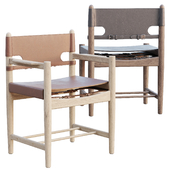AVE Spanish Dining Armchair 3237 by Borge Mogensen
