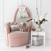 Мебель и декор для оформления детской