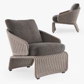 MINOTTI HALLEY outdoor armchair