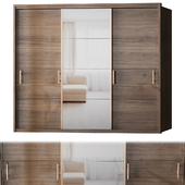 Manhattan Comfort Bellevue Wardrobe - 3 Doors