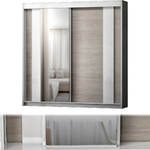 Modern 2 Door Sliding Wardrobe Hokku Designs Colou