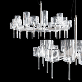 Люстра AXO Light Spillray SP lamps 20 crystal glass