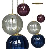 Подвесной светильник Hector Finch Paola Palantir Pendant 3 Bubble