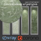 Decorative plaster, two-layer option 506