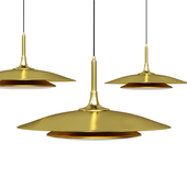 Подвесной светильник Axiom Pendant nickel by Robert Abbey