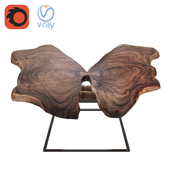 table slab butterfly
