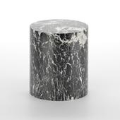 Monolith Side Table (marble) by Kelly Wearstler