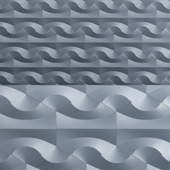 Nova 6 tiles made of polymer concrete