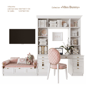 EFI Concept Kid / Miss Bunny - a workplace with a TV zone