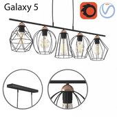 Hanging chandelier TK Lighting Galaxy 5