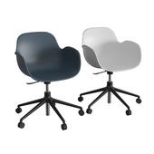 Form Swivel Arm Chair