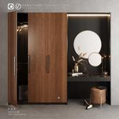 Furniture composition for bedroom