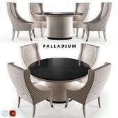 Estetica Table Palladium