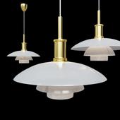 Подвесной светильник Poul Henningsen PH4 Gold Pendant Lamp
