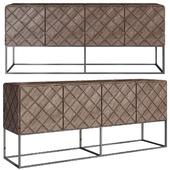 Tiberio Cabinet Matelasse - Property Furniture