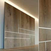 Стеновая панель из дерева. Декоративная стена. 42