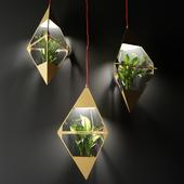 Planter lamps Atelier Schroeter | Lighters Planters Atelier Schroeter