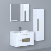 Bathroom Furniture Set - 29 | Troy 85 cm