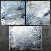 Paintings abstract | set 444