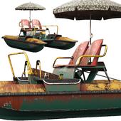 Catamaran Amber (pedalo) old