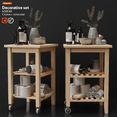 Decorative set IKEA BEKVEM