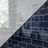 Ceramic wall tile EQUIPE VILLAGE 6.5x13.2 cm 15 colors
