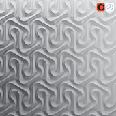 Parametric wall tiles NoVa 6