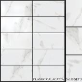 Yurtbay Seramik Classic Calacatta 75x150 Set 3
