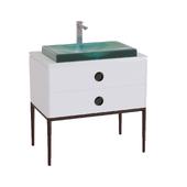 Kohler | Ming vanity & Antilia sink
