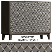 Geometric Dining Console