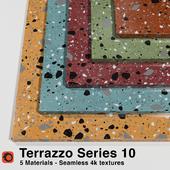 Terrazzo - Series 10 (5 Seamless Materials)