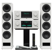 Acoustic system T + A. MP 3100 HV PA 3100 HV.