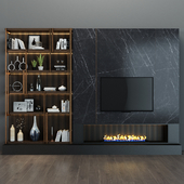 TV shelf 46