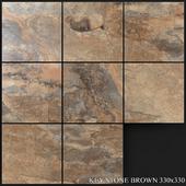 Yurtbay Seramik Key Stone Brown 330x330