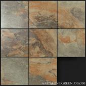 Yurtbay Seramik Key Stone Green 330x330
