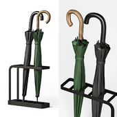 Polder Slimline Umbrella Stand