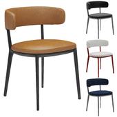 B&b italia Caratos Maxalto Dining Chair