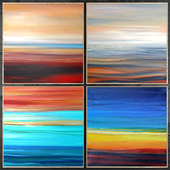 Paintings abstract | set 447