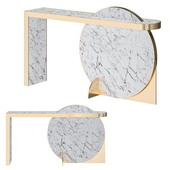 Lapicida Collision Console Table