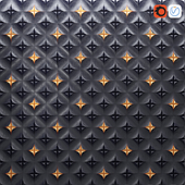 Dune black and gold tiles